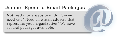 E-mail Hosting for your company or organization